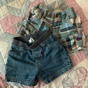 Infant Boy Shorts Set of 2! Size 6-9 mo